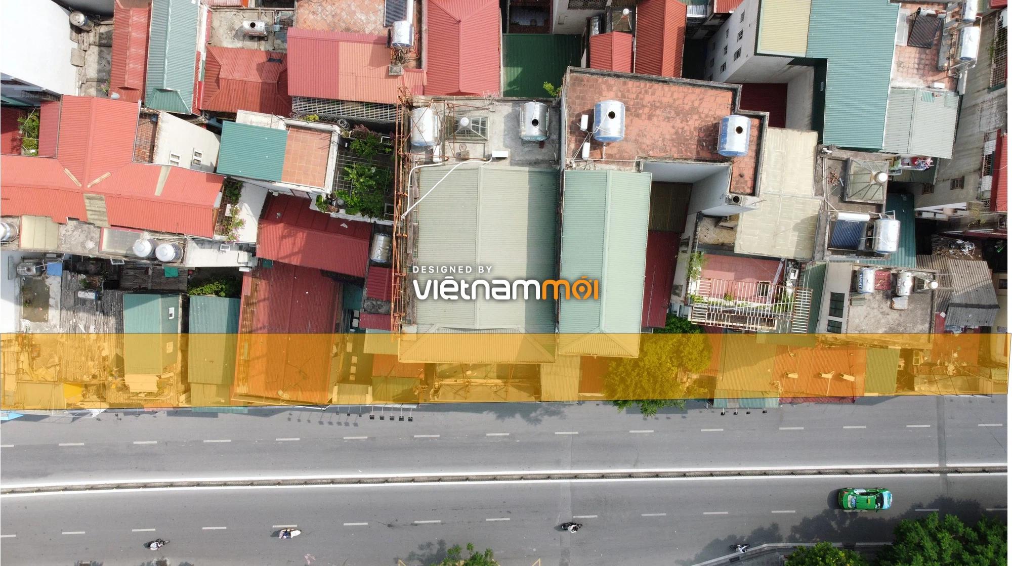 Cận cảnh khu vực thu hồi đất để hoàn thiện nút giao Chùa Bộc - Thái Hà - Ảnh 9.