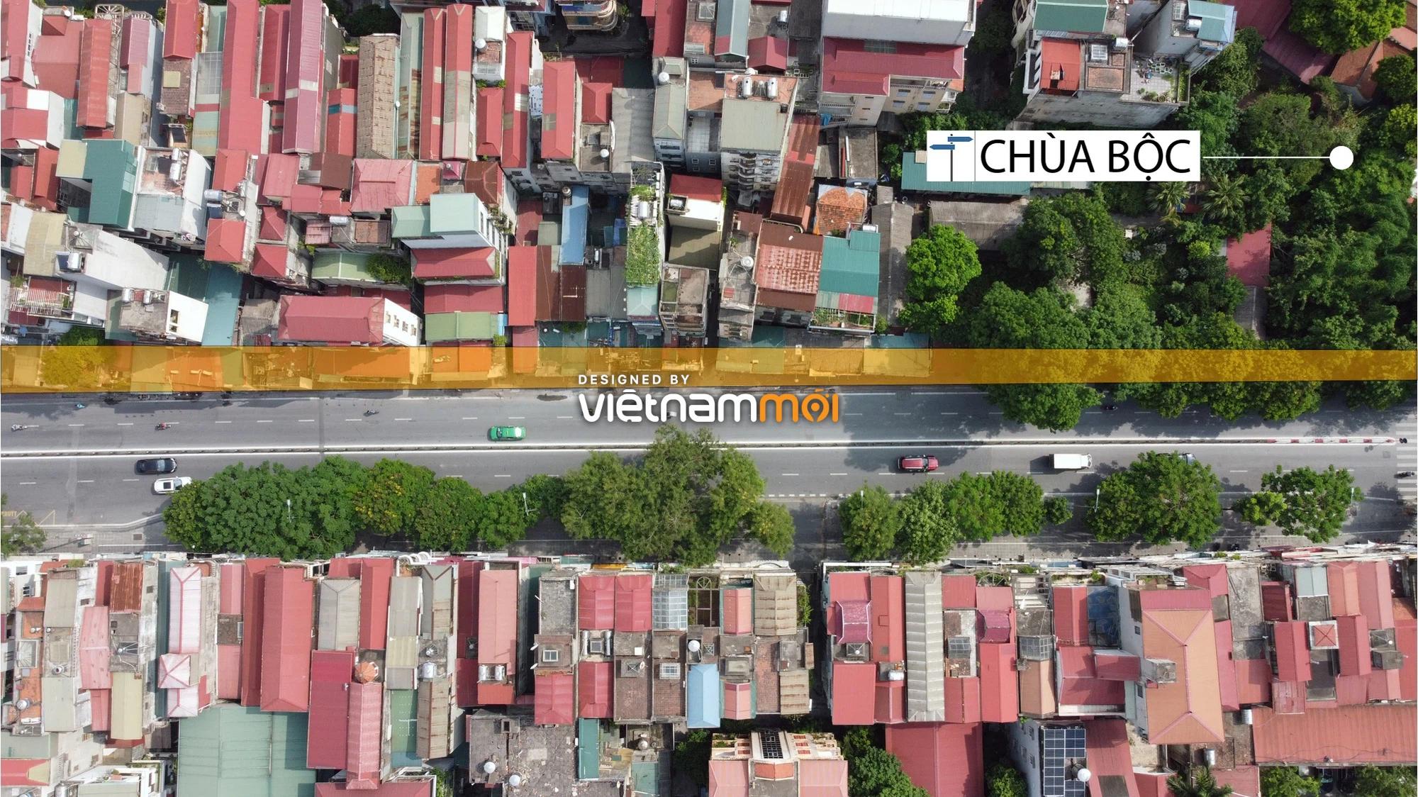Cận cảnh khu vực thu hồi đất để hoàn thiện nút giao Chùa Bộc - Thái Hà - Ảnh 10.