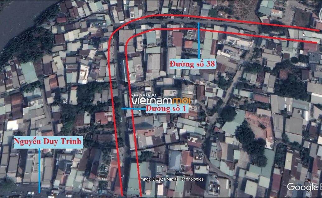Đường sẽ mở theo quy hoạch ở phường Bình Trưng Tây, quận 2, Thủ Đức, TP HCM (phần 1) - Ảnh 3.