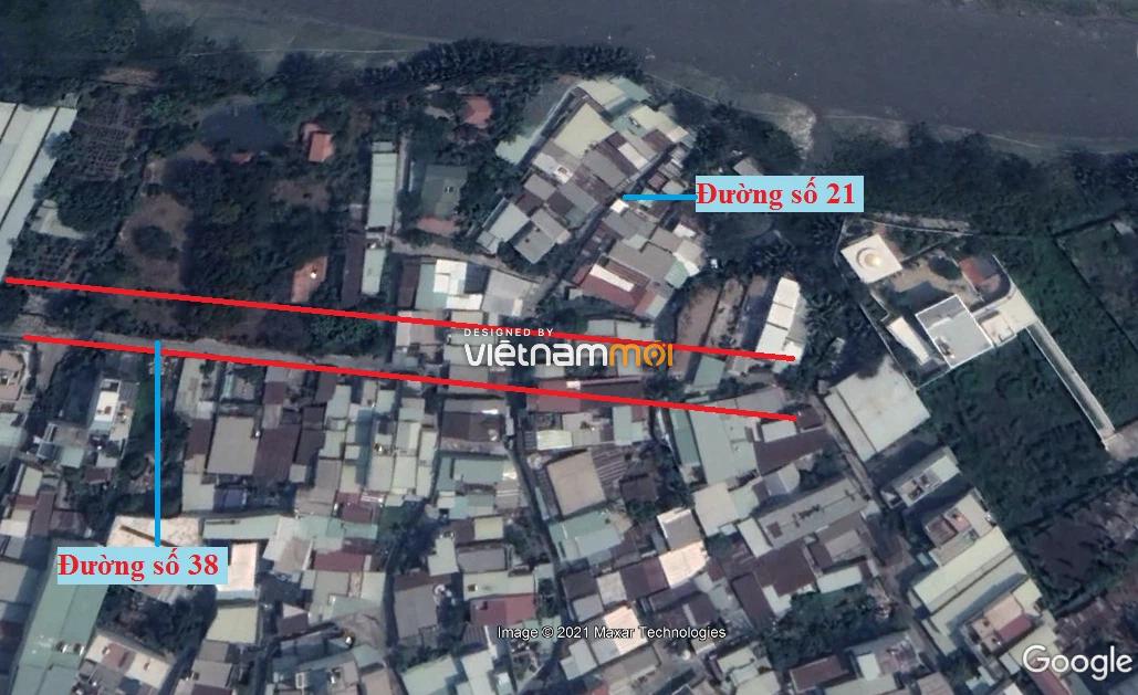 Đường sẽ mở theo quy hoạch ở phường Bình Trưng Tây, quận 2, Thủ Đức, TP HCM (phần 1) - Ảnh 5.