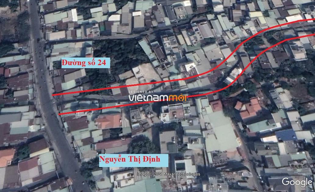 Đường sẽ mở theo quy hoạch ở phường Bình Trưng Tây, quận 2, Thủ Đức, TP HCM (phần 1) - Ảnh 6.