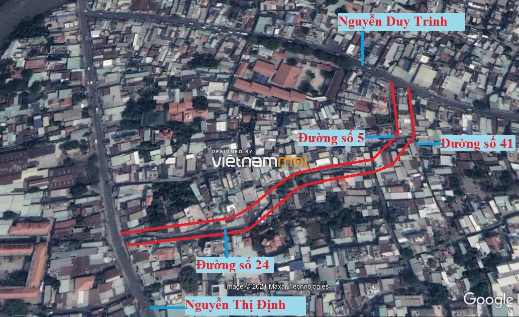 Đường sẽ mở theo quy hoạch ở phường Bình Trưng Tây, quận 2, Thủ Đức, TP HCM (phần 2) - Ảnh 6.