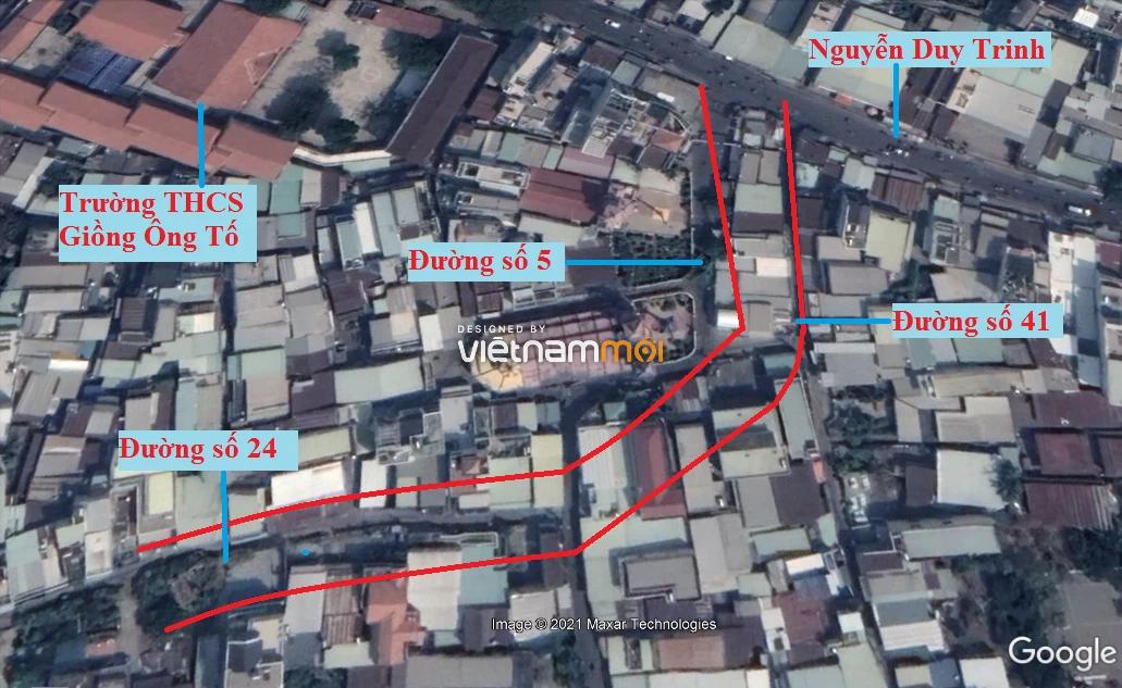 Đường sẽ mở theo quy hoạch ở phường Bình Trưng Tây, quận 2, Thủ Đức, TP HCM (phần 2) - Ảnh 7.
