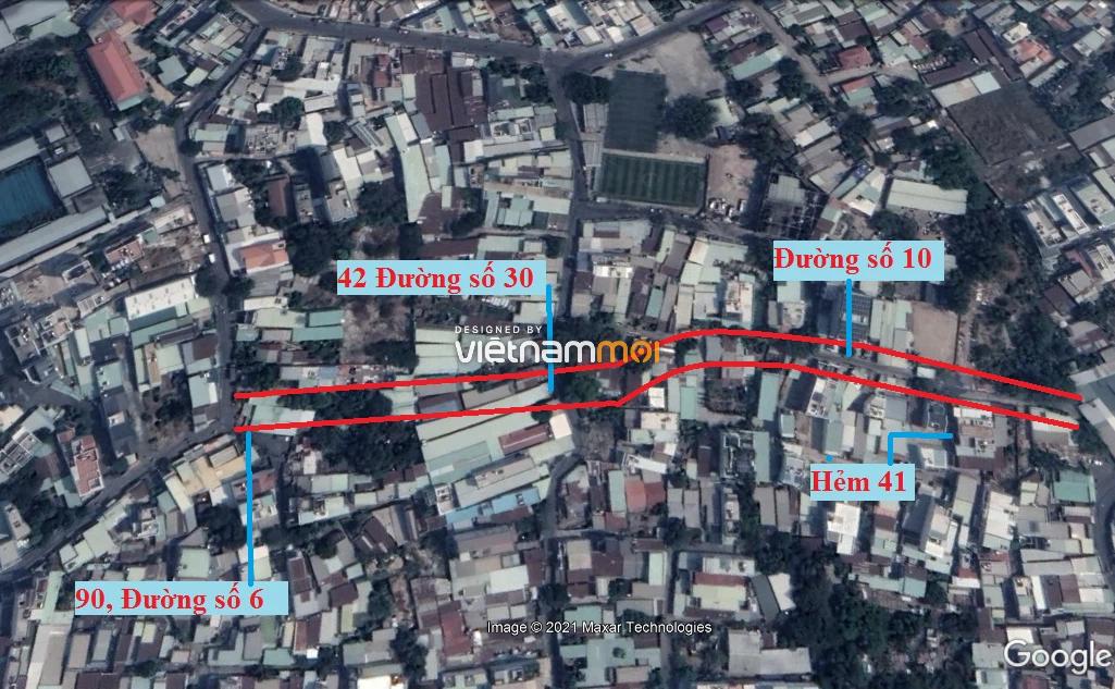Đường sẽ mở theo quy hoạch ở phường Bình Trưng Tây, quận 2, Thủ Đức, TP HCM (phần 2) - Ảnh 9.