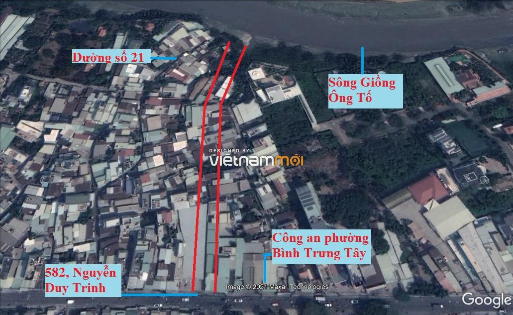 Đường sẽ mở theo quy hoạch ở phường Bình Trưng Tây, quận 2, Thủ Đức, TP HCM (phần 2) - Ảnh 10.