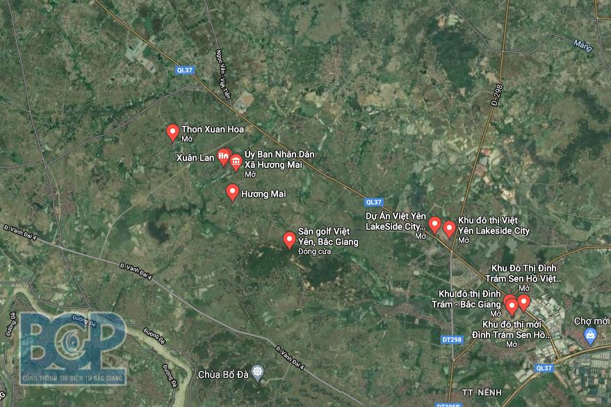 Việt Yên, Bắc Giang sắp có thêm khu đô thị 33 ha tại xã Hương Mai - Ảnh 1.