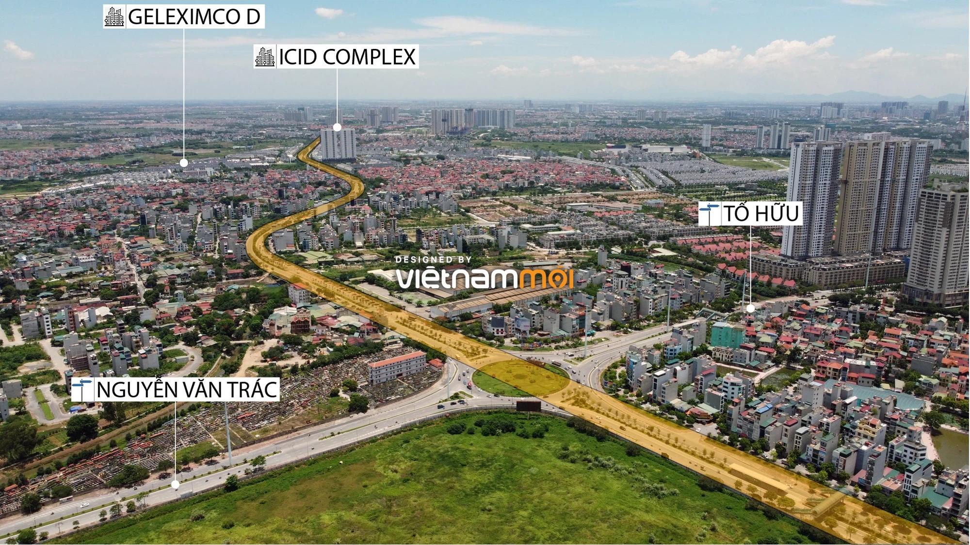 Đường Vành đai 3,5 sẽ mở theo quy hoạch qua quận Hà Đông, Hà Nội - Ảnh 5.