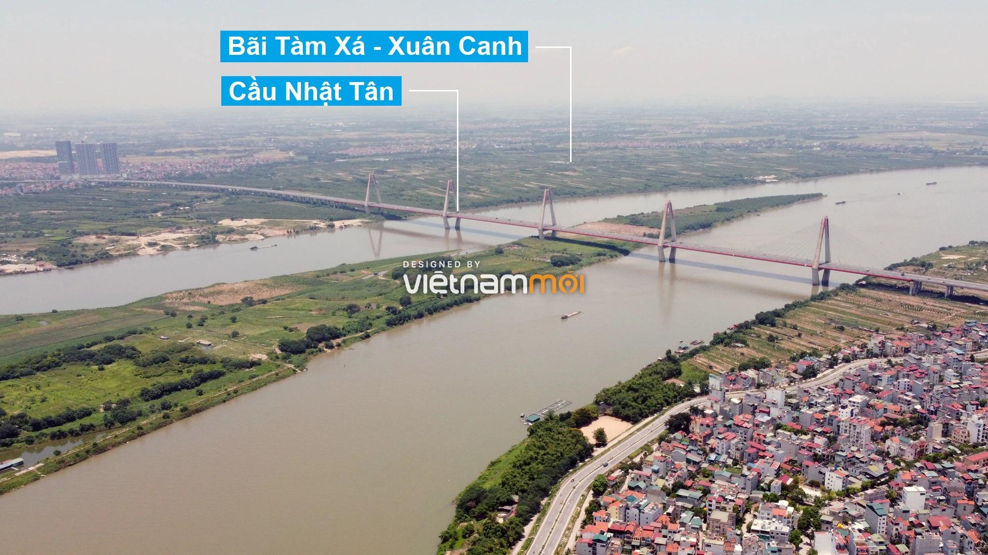 Hà Nội: Toàn cảnh hai bãi sông Hồng được phép xây dựng - Ảnh 1.