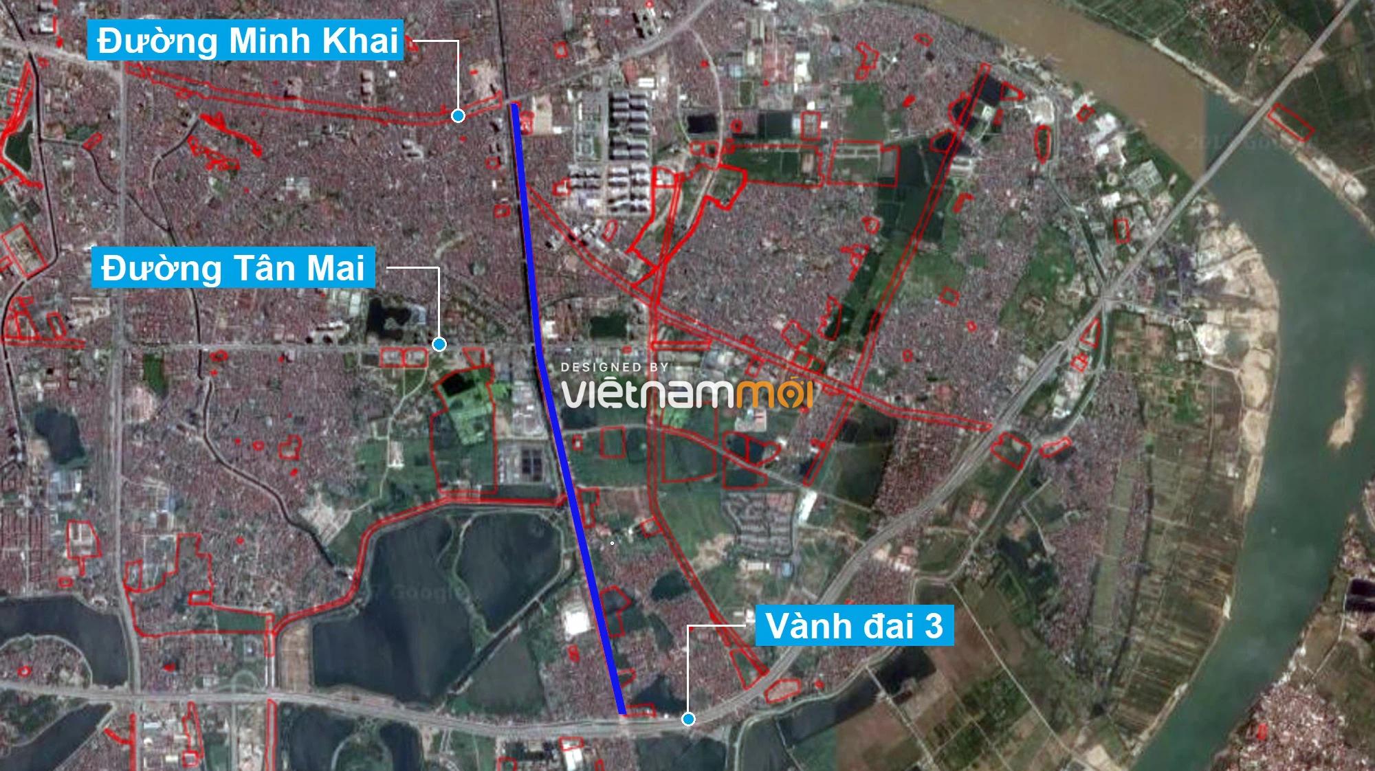 Những khu đất sắp thu hồi để mở đường ở quận Hoàng Mai, Hà Nội (phần 3) - Ảnh 2.