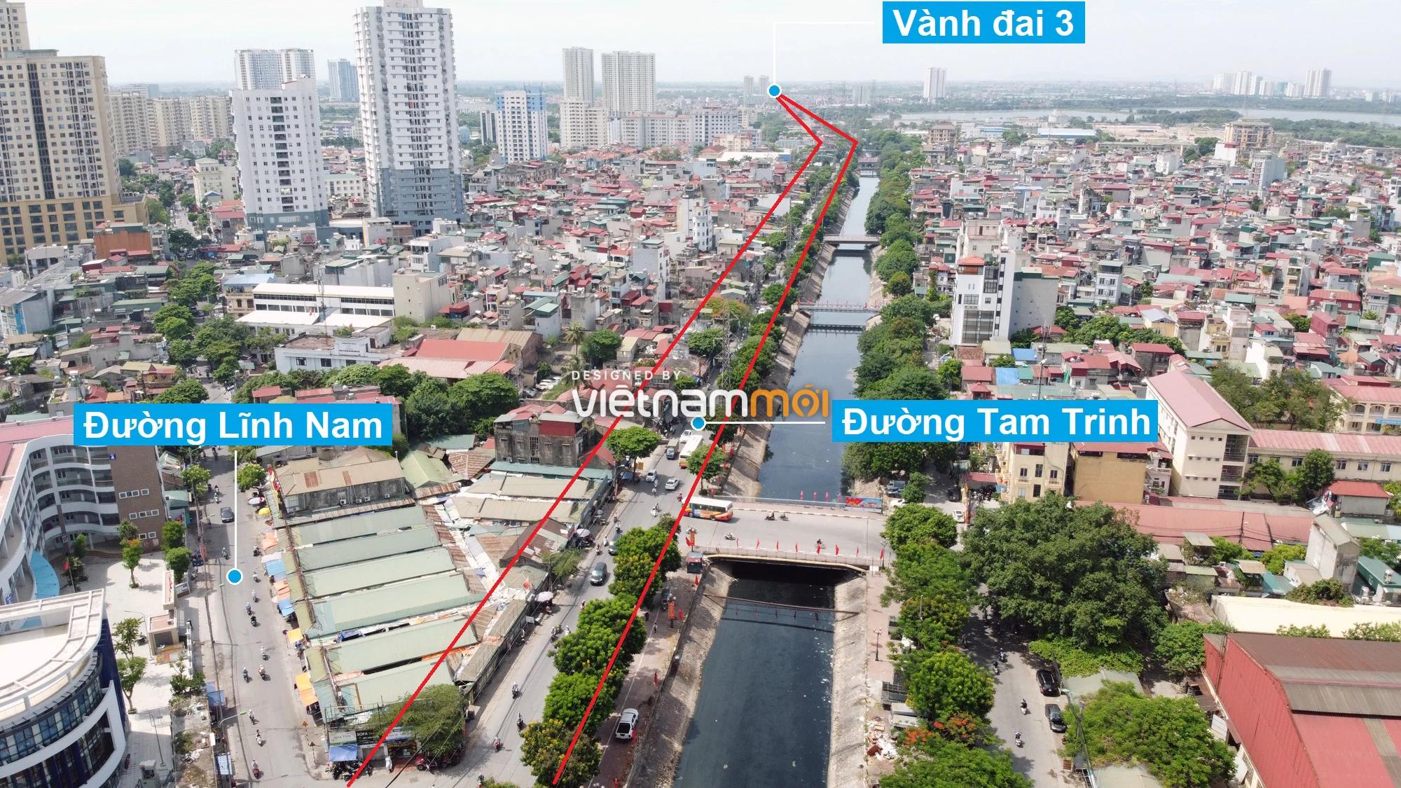 Những khu đất sắp thu hồi để mở đường ở quận Hoàng Mai, Hà Nội (phần 3) - Ảnh 8.