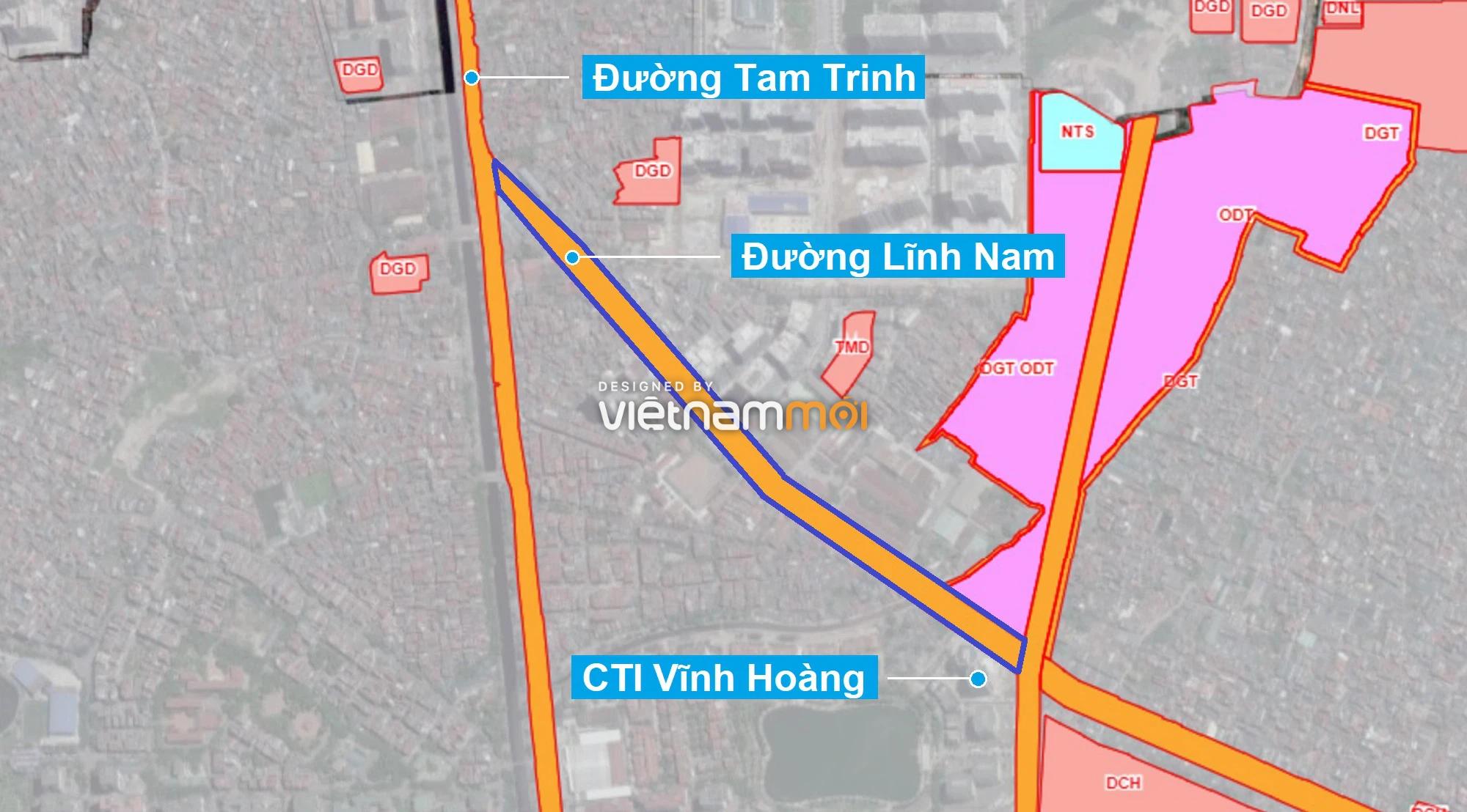 Những khu đất sắp thu hồi để mở đường ở quận Hoàng Mai, Hà Nội (phần 3) - Ảnh 9.