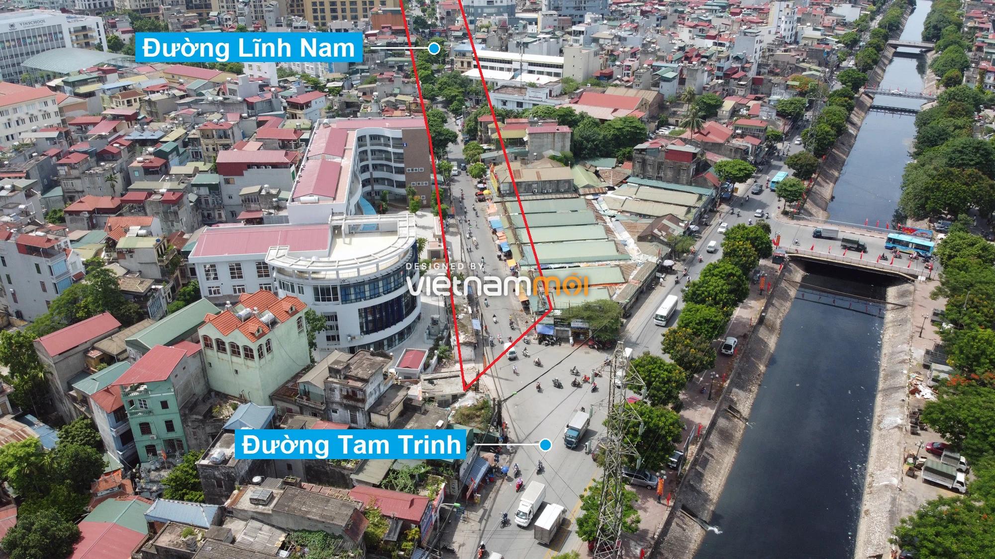 Những khu đất sắp thu hồi để mở đường ở quận Hoàng Mai, Hà Nội (phần 3) - Ảnh 11.