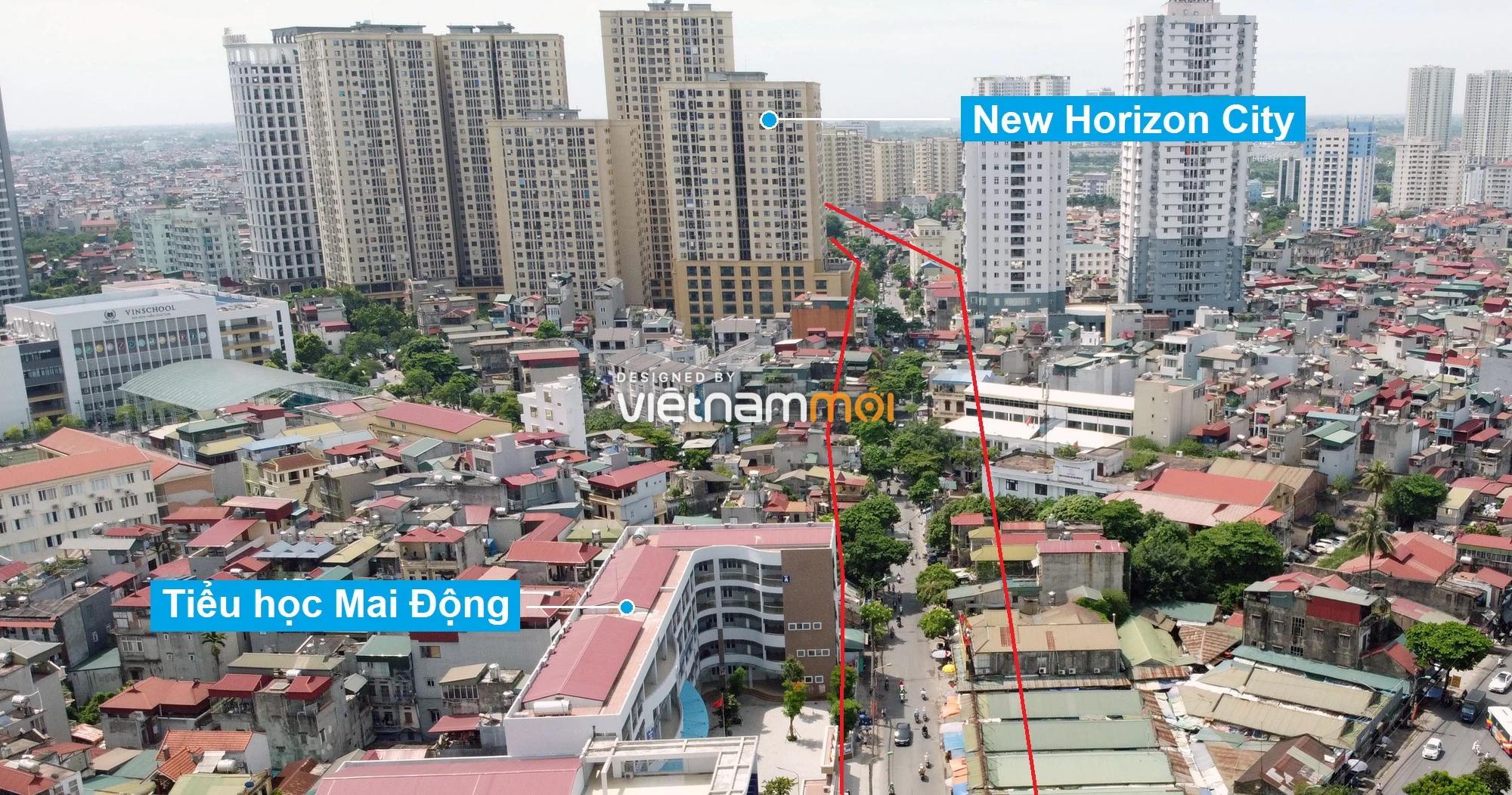 Những khu đất sắp thu hồi để mở đường ở quận Hoàng Mai, Hà Nội (phần 3) - Ảnh 12.