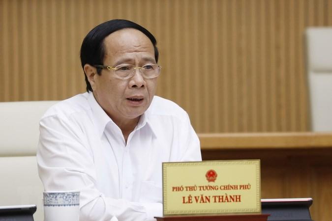 Phó Thủ tướng Lê Văn Thành làm Chủ tịch Hội đồng thẩm định Quy hoạch sử dụng đất quốc gia - Ảnh 1.