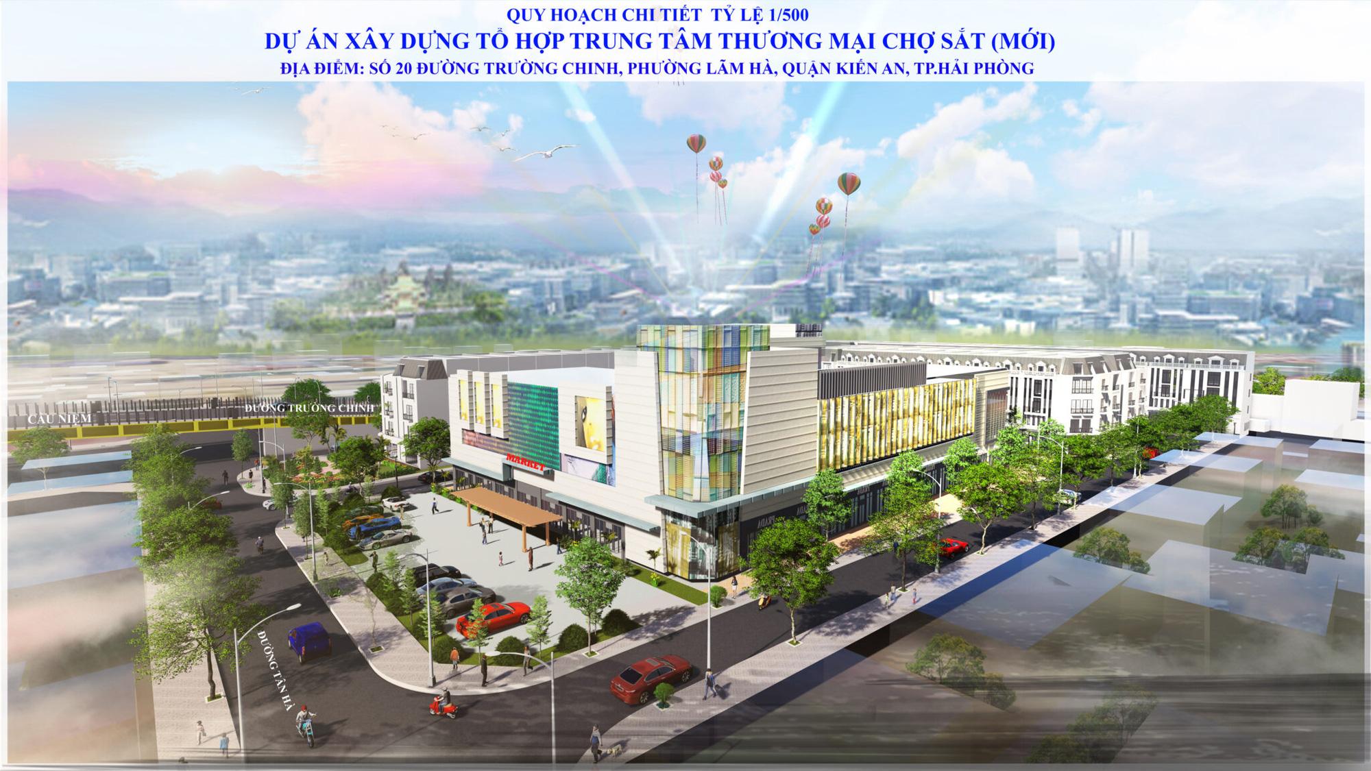 Hải Phòng sắp có tổ hợp TTTM, khách sạn 5 sao gần 6.000 tỷ đồng thay thế chợ Sắt tại quân Hồng Bàng - Ảnh 2.