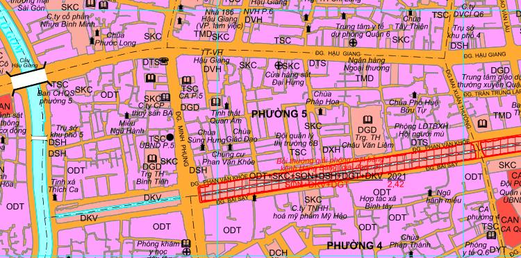 Kế hoạch sử dụng đất phường 5, quận 6, TP HCM - Ảnh 2.