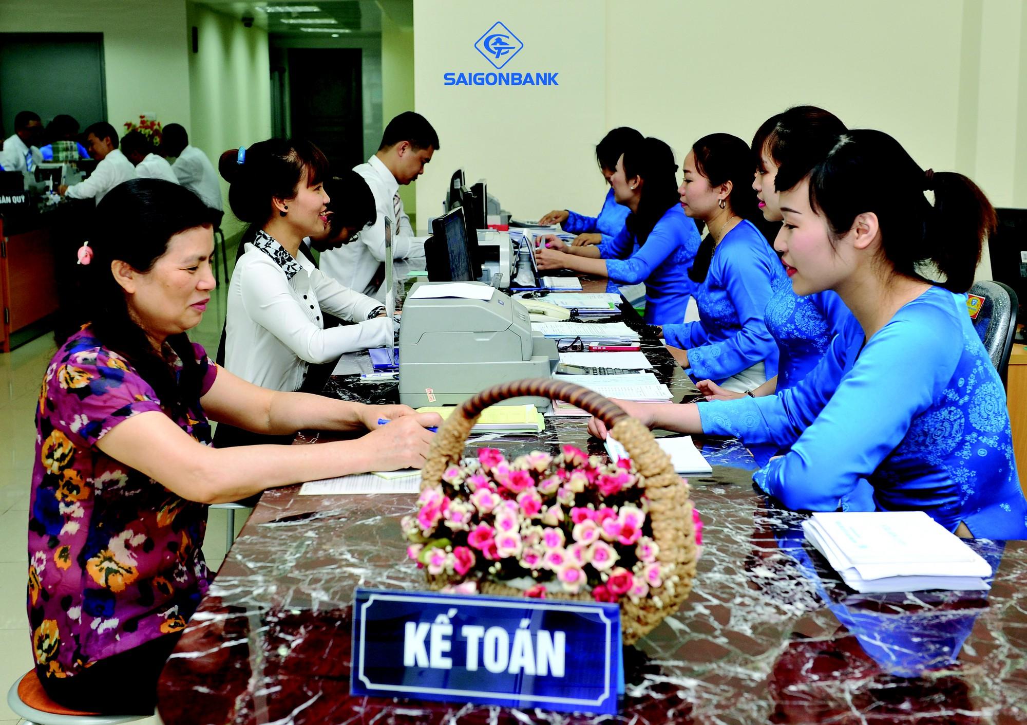 Lãi suất ngân hàng Saigonbank tháng 8/2021 cao nhất là 6,5%/năm - Ảnh 1.