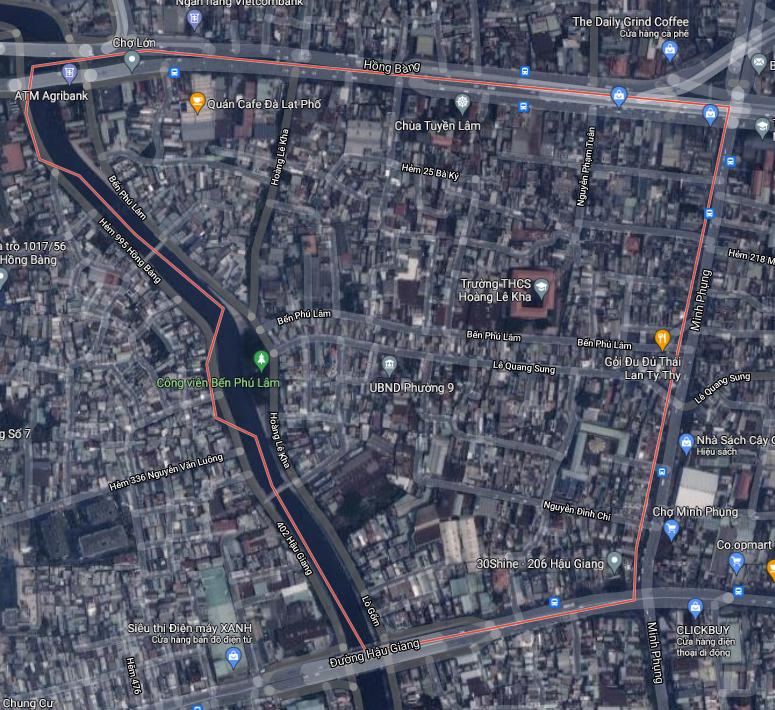 Kế hoạch sử dụng đất phường 9, quận 6, TP HCM - Ảnh 1.