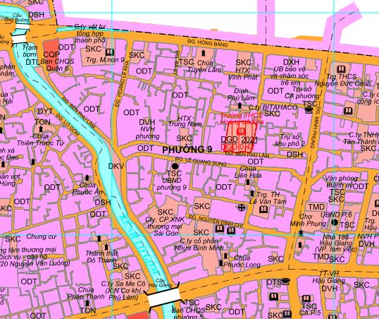 Kế hoạch sử dụng đất phường 9, quận 6, TP HCM - Ảnh 2.