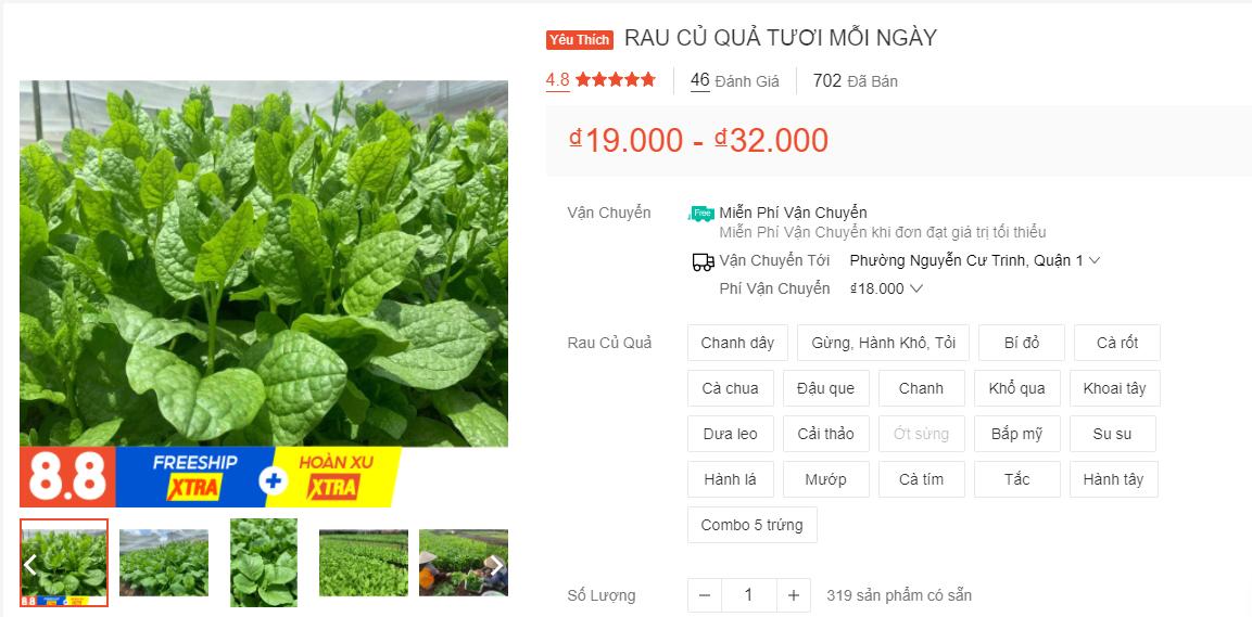 Gợi ý cách bán rau củ quả online tại nhà trong mùa dịch - Ảnh 6.