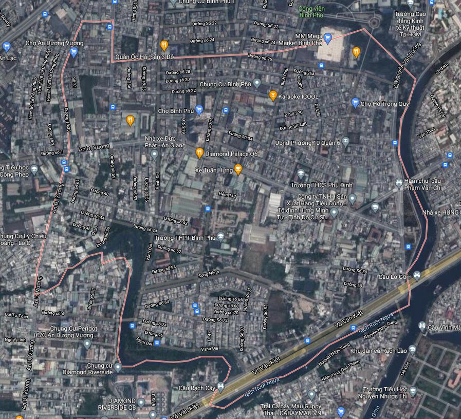 Kế hoạch sử dụng đất phường 10, quận 6, TP HCM - Ảnh 1.
