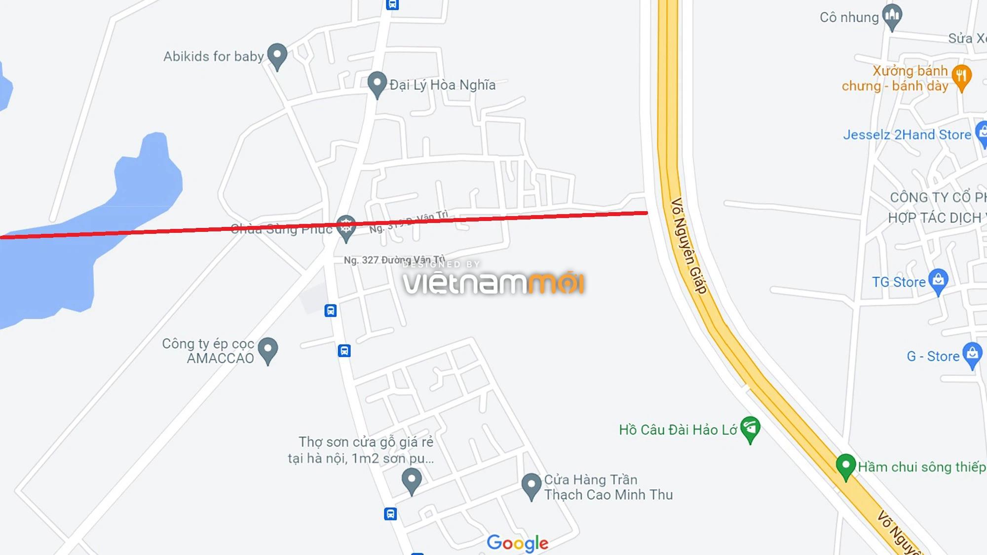 Đường sẽ mở theo quy hoạch xung quanh dự án Thành phố Thông minh Bắc Hà Nội (phần 3) - Ảnh 1.
