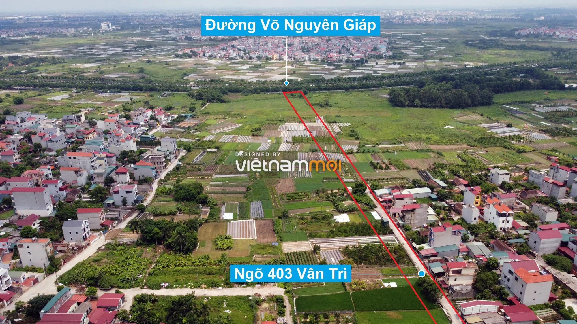 Đường sẽ mở theo quy hoạch xung quanh dự án Thành phố Thông minh Bắc Hà Nội (phần 3) - Ảnh 8.