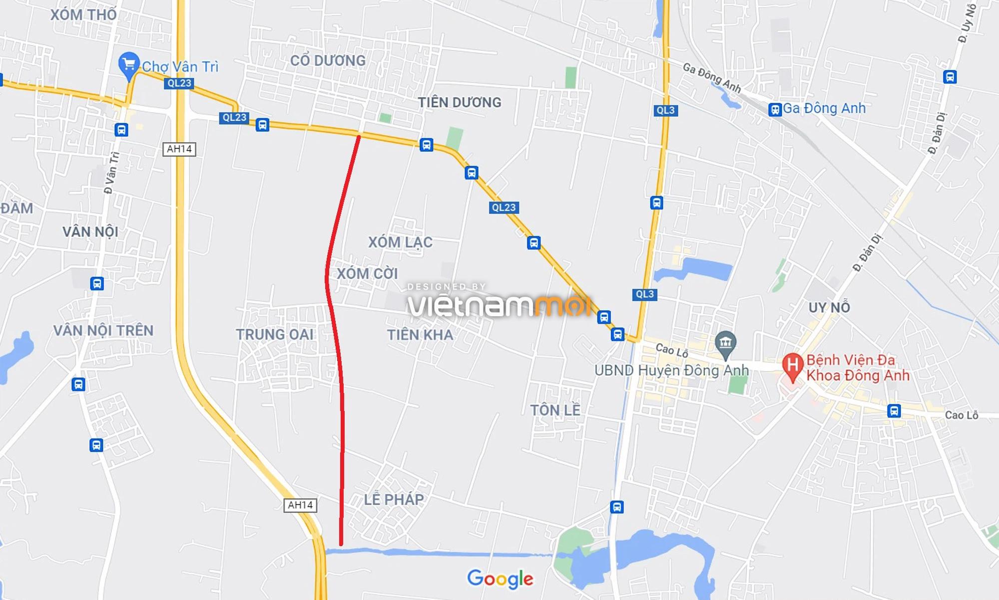 Đường sẽ mở theo quy hoạch xung quanh dự án Thành phố Thông minh Bắc Hà Nội (phần 3) - Ảnh 12.