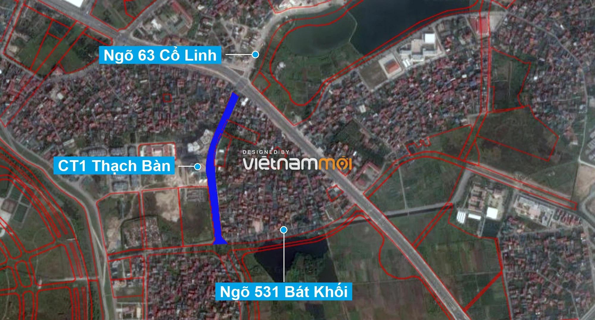 Những khu đất sắp thu hồi để mở đường ở phường Thạch Bàn, Long Biên, Hà Nội (phần 7) - Ảnh 2.
