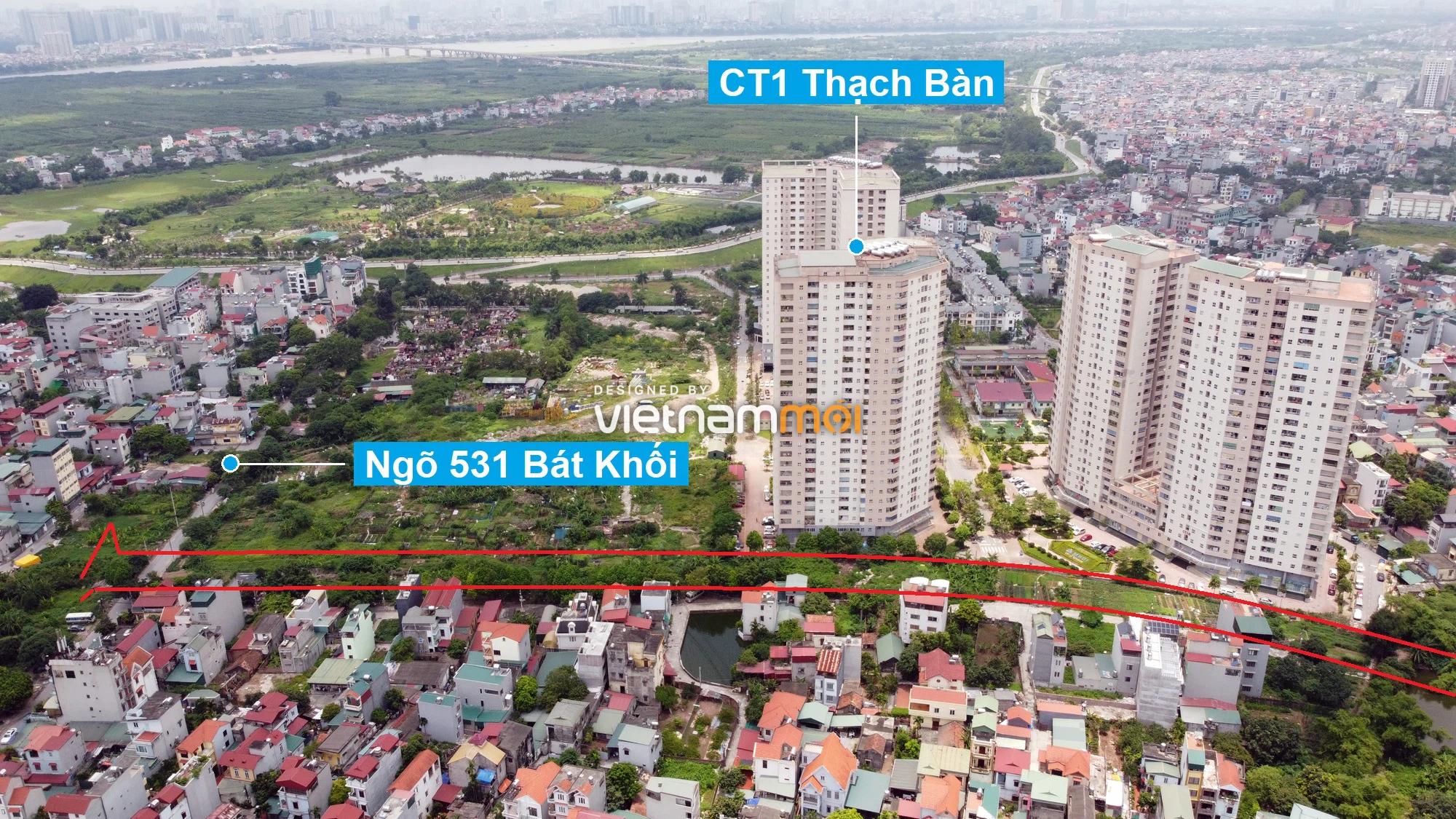 Những khu đất sắp thu hồi để mở đường ở phường Thạch Bàn, Long Biên, Hà Nội (phần 7) - Ảnh 4.