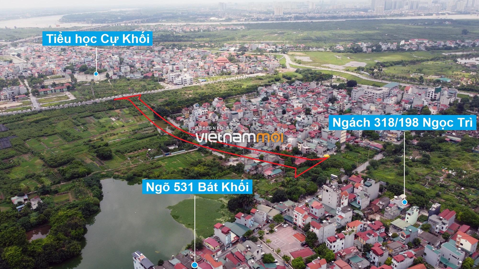 Những khu đất sắp thu hồi để mở đường ở phường Thạch Bàn, Long Biên, Hà Nội (phần 7) - Ảnh 12.