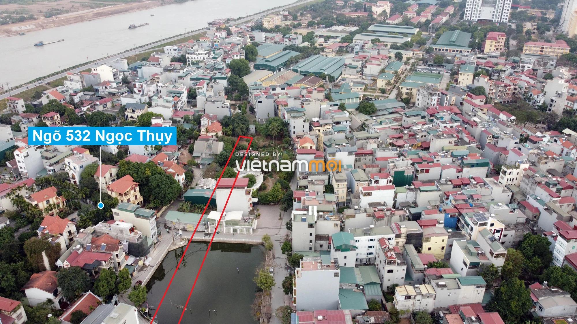 Những khu đất sắp thu hồi để mở đường ở phường Ngọc Thụy, Long Biên, Hà Nội (phần 2) - Ảnh 5.