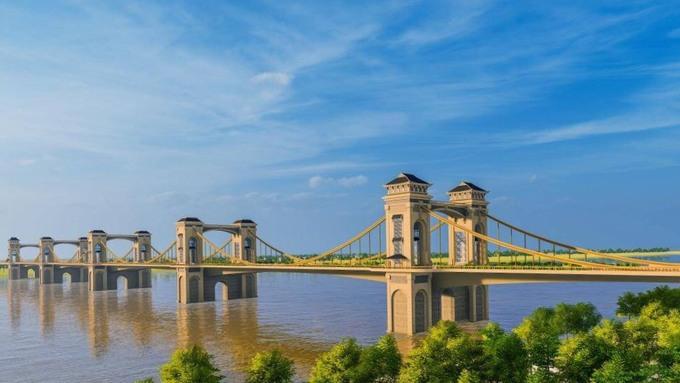 Hà Nội giao Him Lam nghiên cứu xây cầu Trần Hưng Đạo 8.900 tỷ đồng theo hình thức BOT - Ảnh 1.