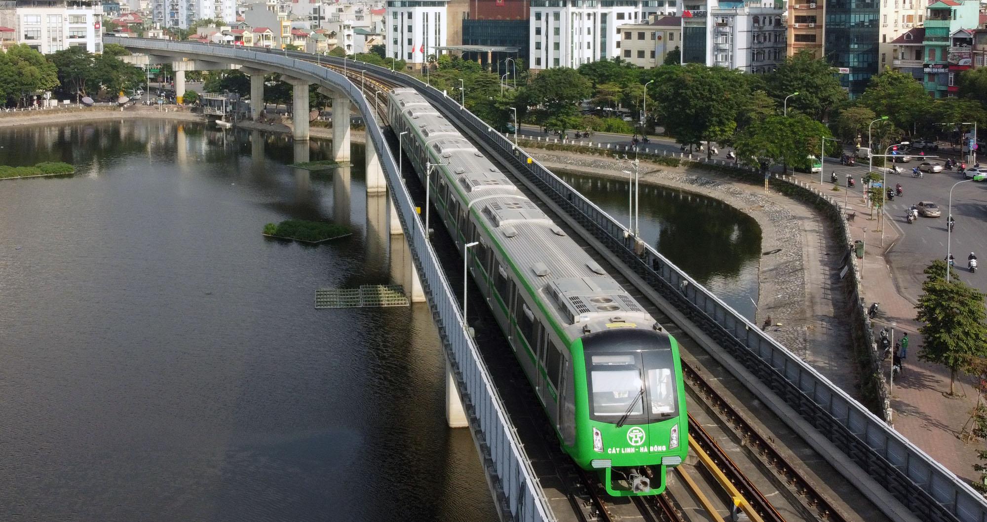 Ấn định thời gian về đích dự án đường sắt Cát Linh - Hà Đông - Ảnh 1.