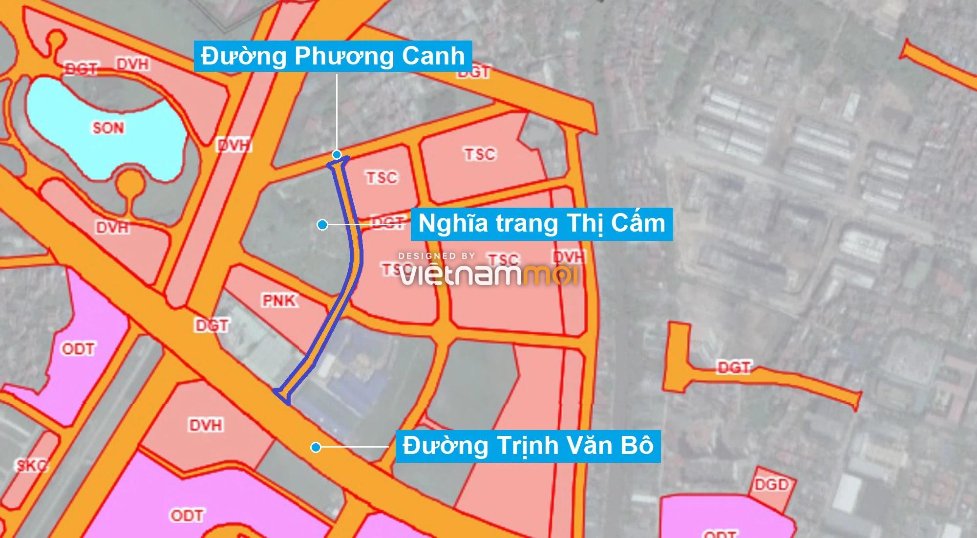 Những khu đất sắp thu hồi để mở đường ở phường Xuân Phương, Nam Từ Liêm, Hà Nội (phần 5) - Ảnh 1.