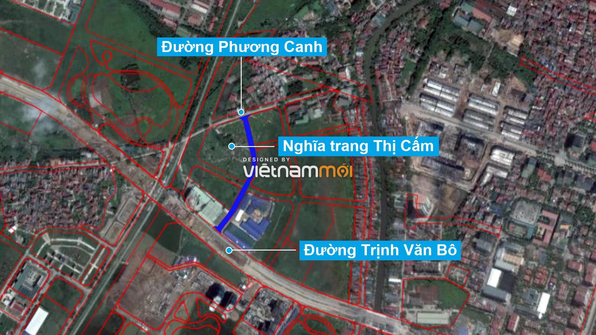 Những khu đất sắp thu hồi để mở đường ở phường Xuân Phương, Nam Từ Liêm, Hà Nội (phần 5) - Ảnh 2.