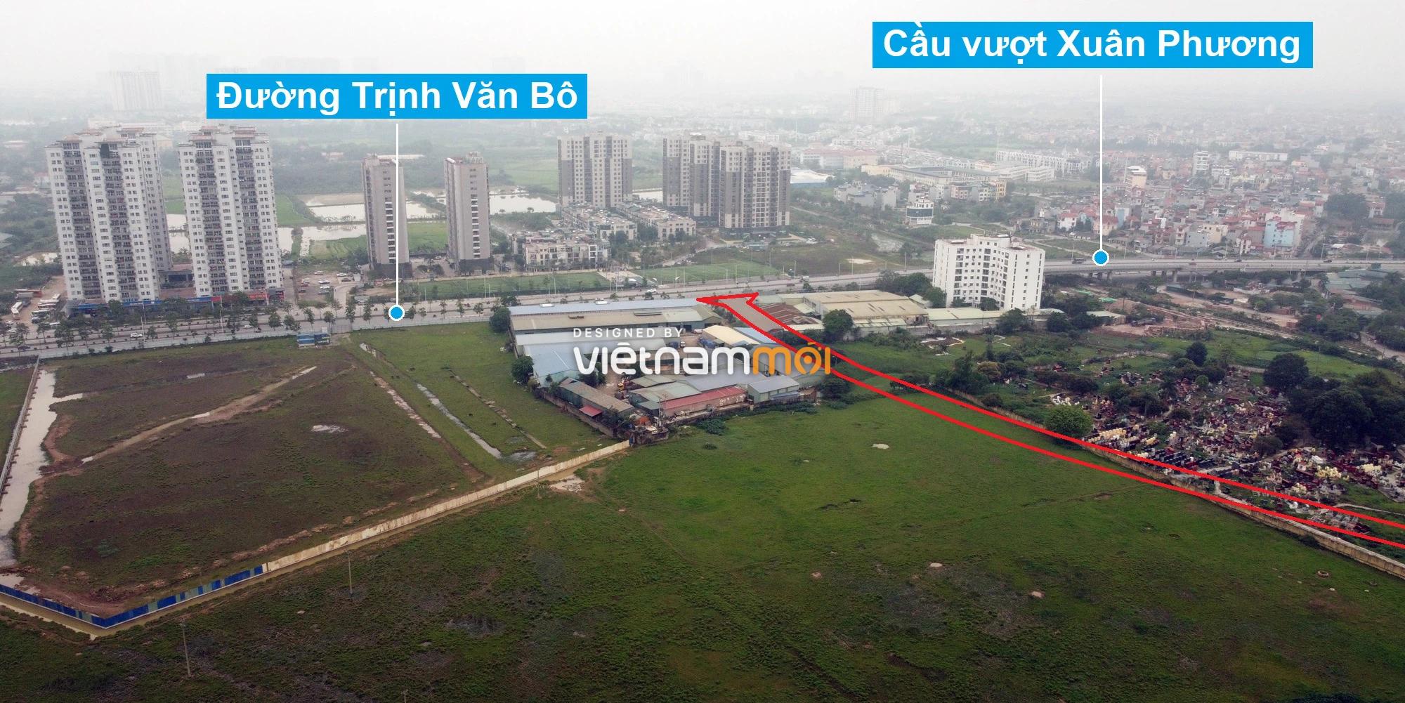 Những khu đất sắp thu hồi để mở đường ở phường Xuân Phương, Nam Từ Liêm, Hà Nội (phần 5) - Ảnh 4.