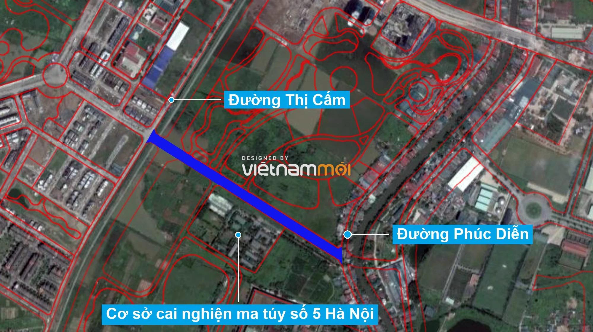 Những khu đất sắp thu hồi để mở đường ở phường Xuân Phương, Nam Từ Liêm, Hà Nội (phần 5) - Ảnh 8.