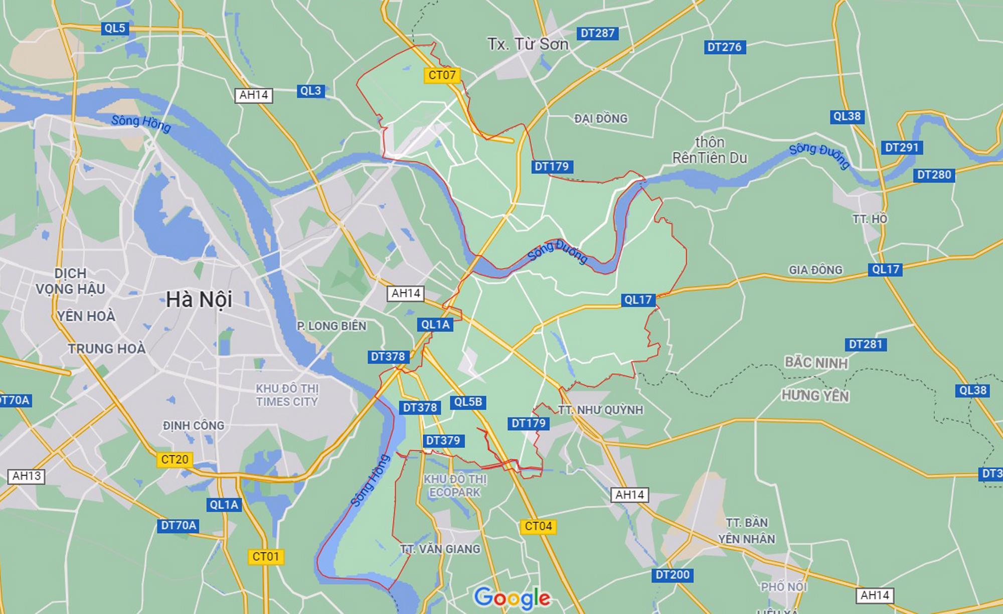 Những khu đất sắp thu hồi để mở đường ở huyện Gia Lâm, Hà Nội (phần 1) - Ảnh 1.