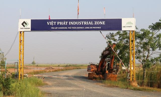 9.000 tỷ đồng đổ về tổ hợp KCN và đô thị Việt Phát ở Long An - Ảnh 1.