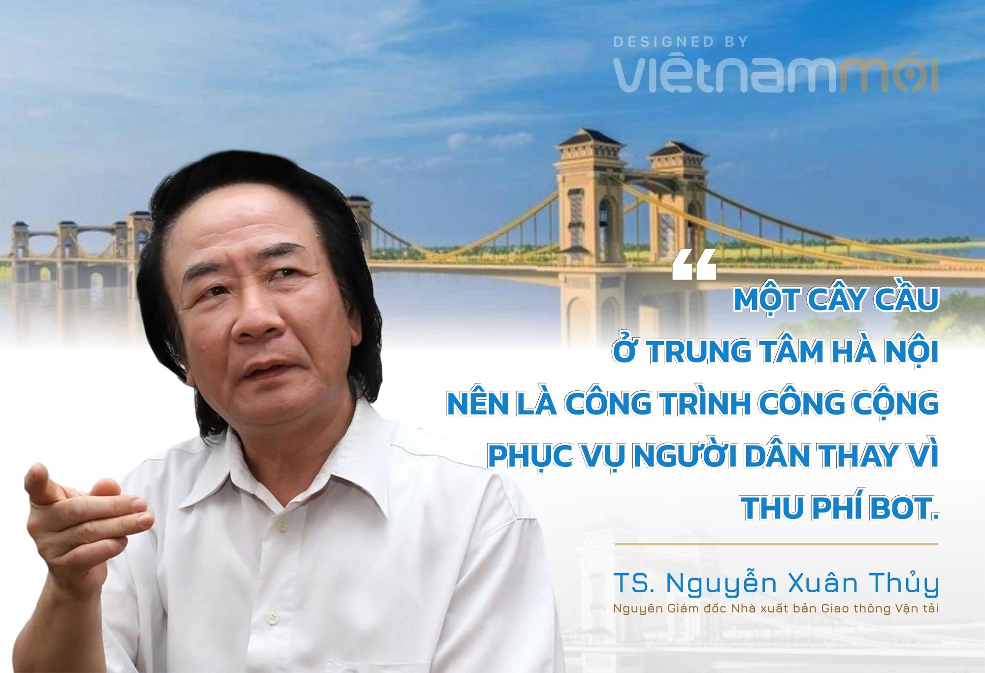 Dự án cầu Trần Hưng Đạo: 'Không nên thương mại hóa giao thông bằng BOT'  - Ảnh 2.