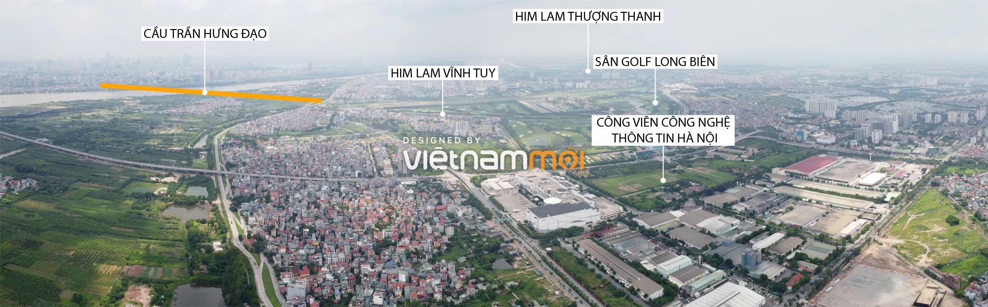 Toàn cảnh các dự án của Him Lam được hưởng lợi từ cầu Trần Hưng Đạo - Ảnh 1.
