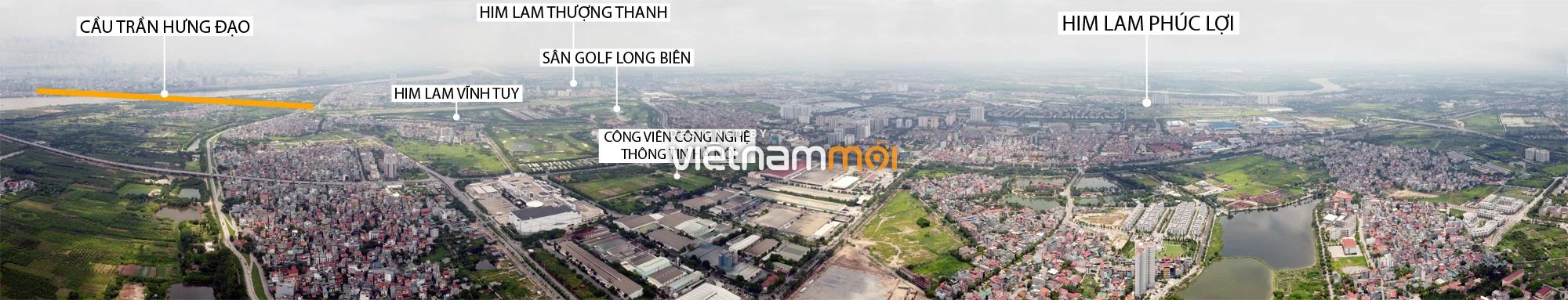 Toàn cảnh các dự án của Him Lam được hưởng lợi từ cầu Trần Hưng Đạo - Ảnh 11.