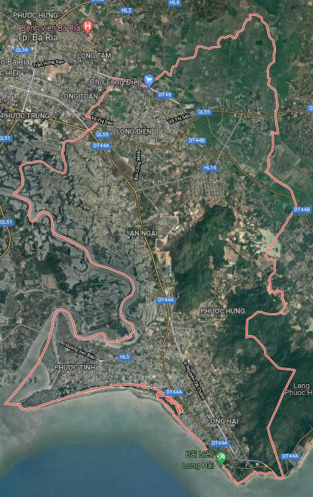 Kế hoạch sử dụng đất huyện Long Điền, tỉnh Bà Rịa - Vũng Tàu - Ảnh 1.