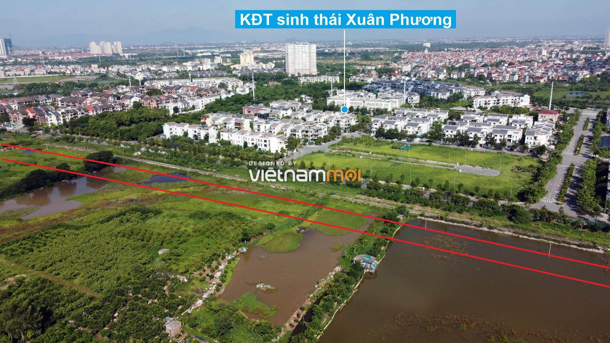Những khu đất sắp thu hồi để mở đường ở phường Xuân Phương, Nam Từ Liêm, Hà Nội (phần 6) - Ảnh 8.
