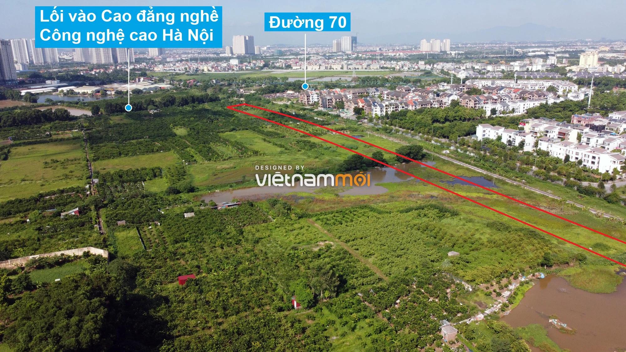 Những khu đất sắp thu hồi để mở đường ở phường Xuân Phương, Nam Từ Liêm, Hà Nội (phần 6) - Ảnh 9.