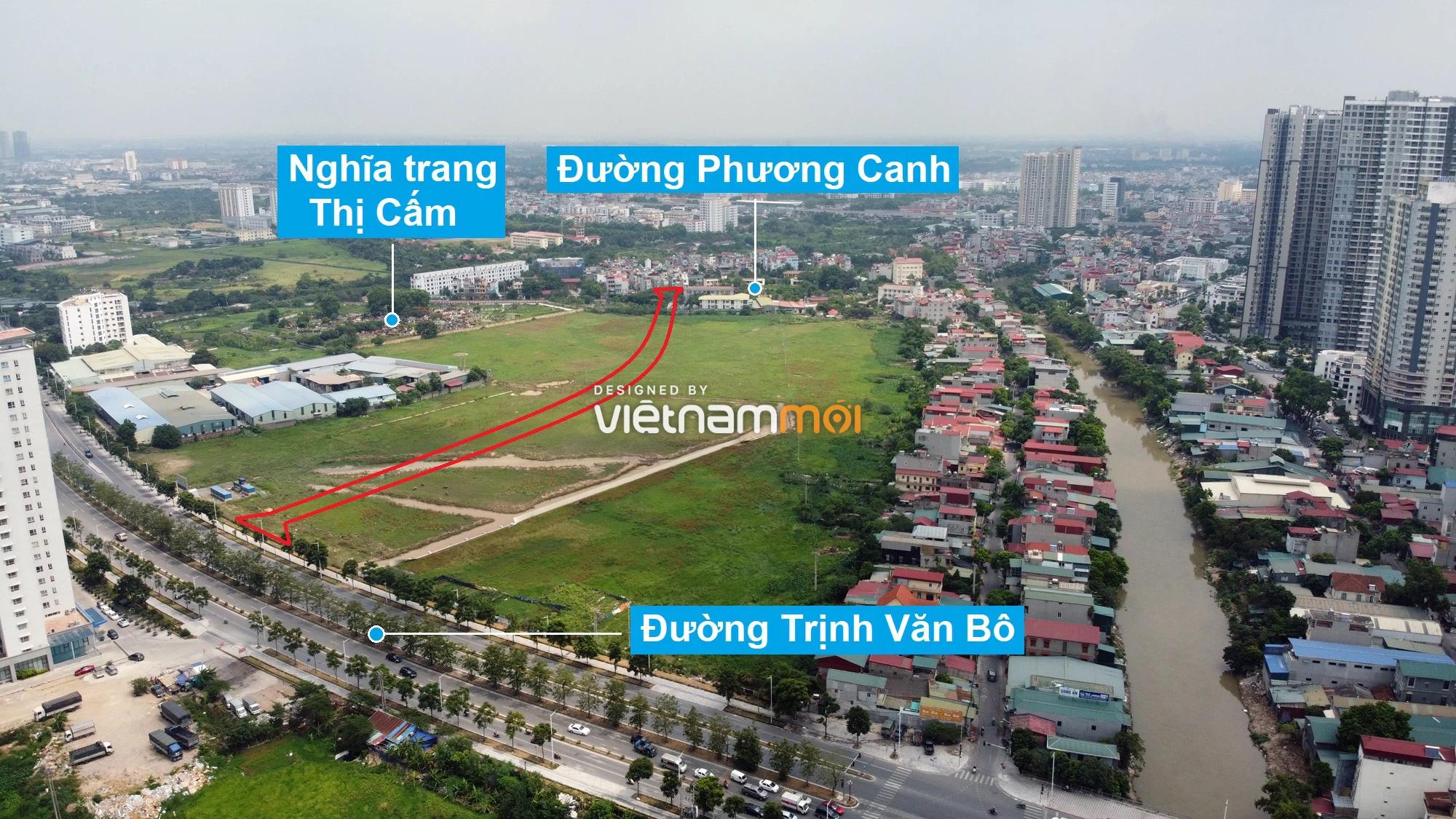 Những khu đất sắp thu hồi để mở đường ở phường Xuân Phương, Nam Từ Liêm, Hà Nội (phần 6) - Ảnh 12.
