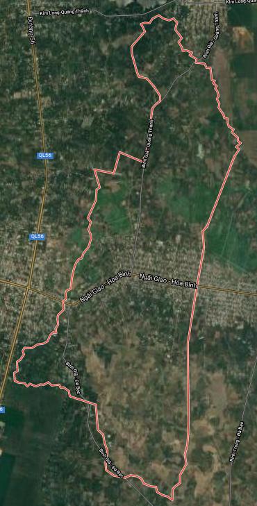 Kế hoạch sử dụng đất xã Bình Giã, huyện Châu Đức, tỉnh Bà Rịa - Vũng Tàu - Ảnh 1.