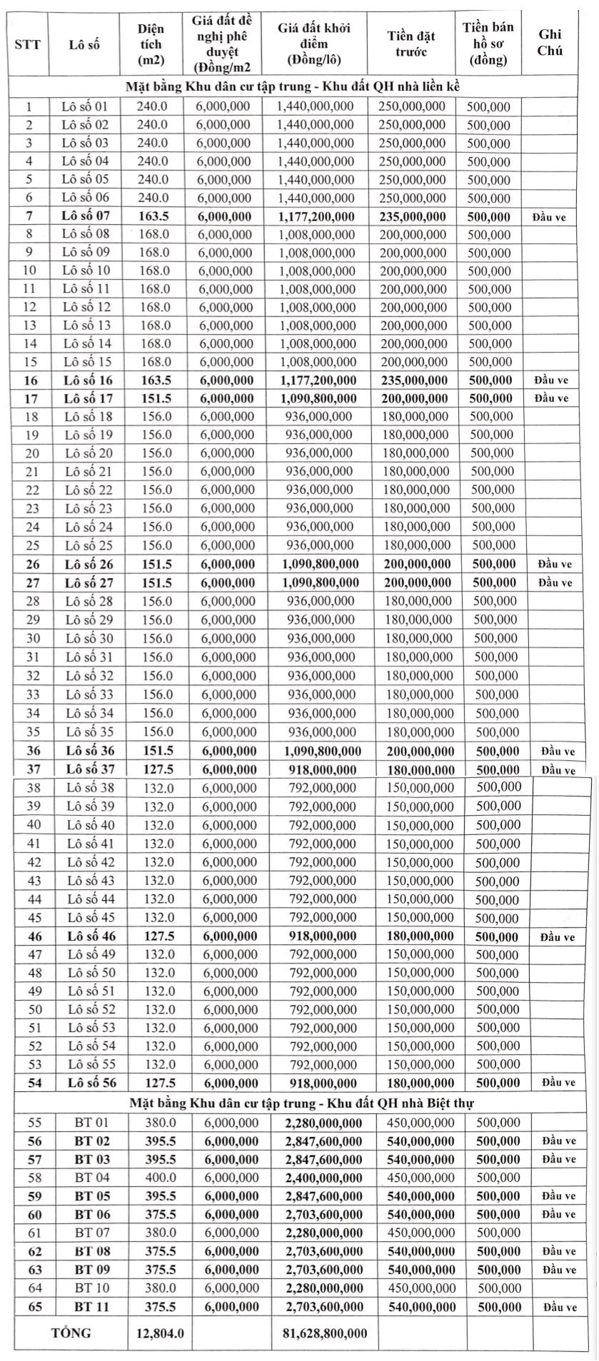 Hậu Lộc, Thanh Hóa sắp đấu giá 81 lô đất, khởi điểm từ 787 triệu đồng/lô - Ảnh 1.