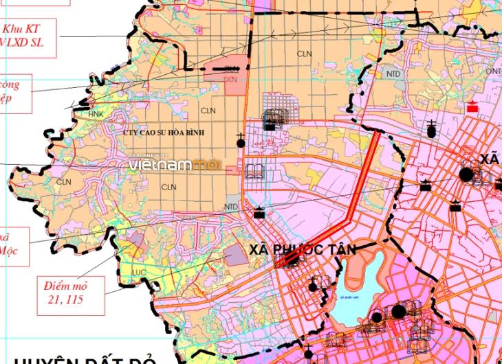 Đường sẽ mở ở xã Phước Tân, huyện Xuyên Mộc, Bà Rịa - Vũng Tàu - Ảnh 2.